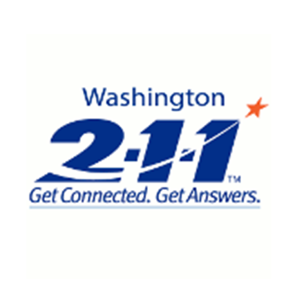 Washington 2-1-1 logo