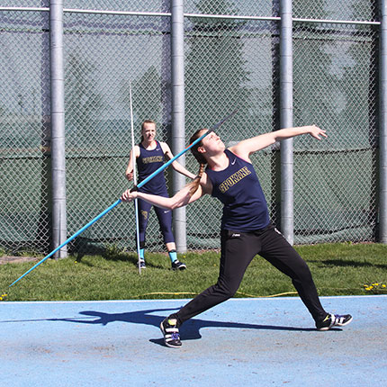 Track and Field Womens Javelin