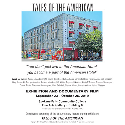 Tales of the American Hotel exhibit