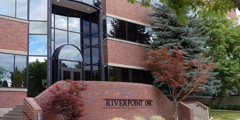 CCS Riverpoint One Building Entrance