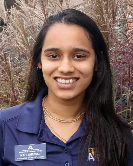 Malvika Shriwas - SFCC Associate Student Government President